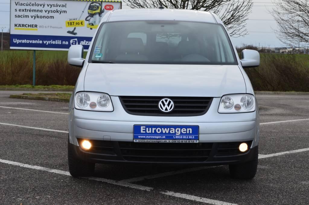Volkswagen Caddy Life 1.6i LPG MAXI 7M